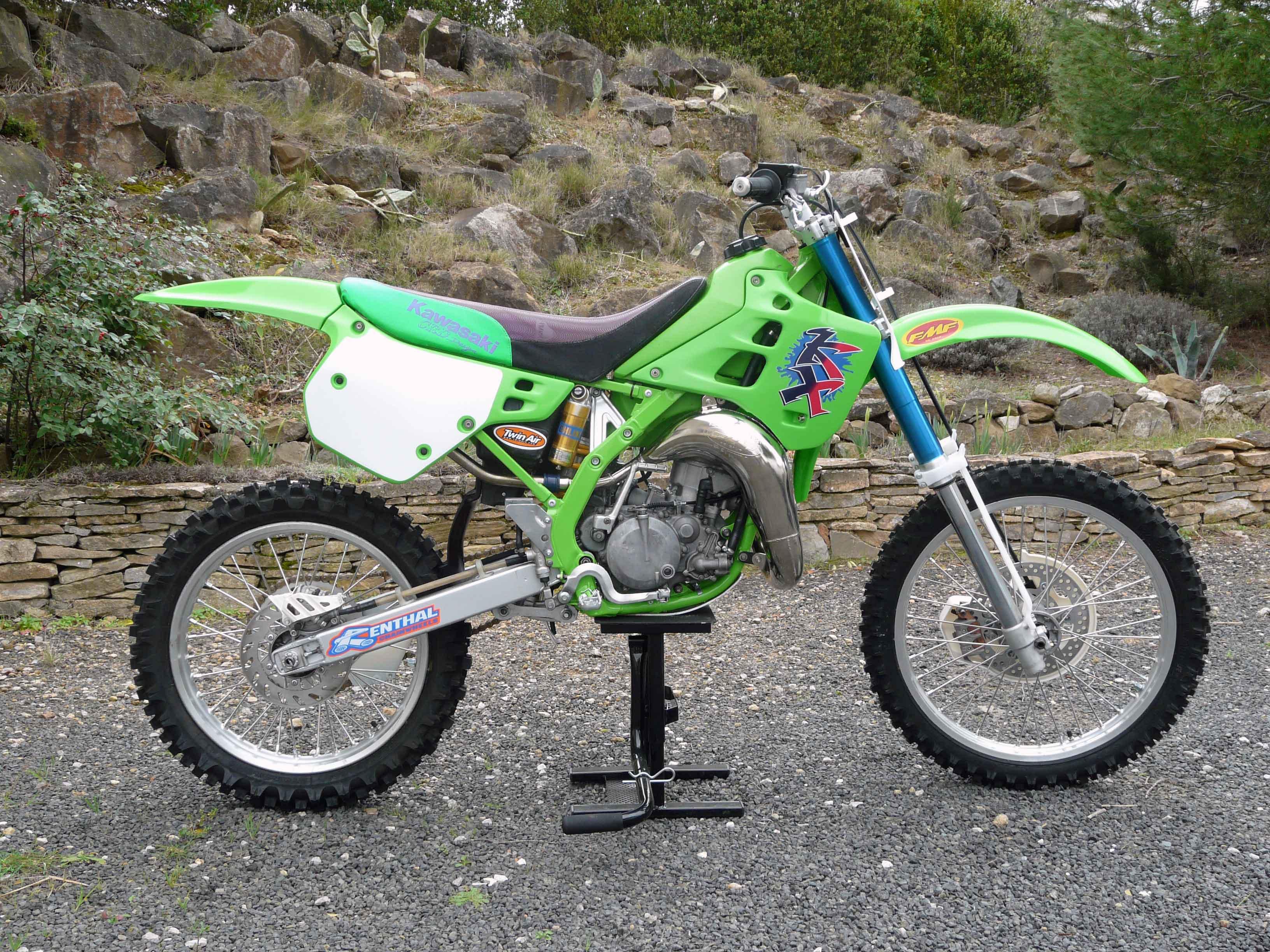 diagram of kawasaki motorcycle parts 1987 kx125